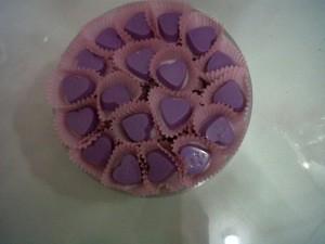 Coklat Toples Hati Kecil isi 72 pcs