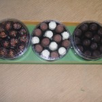 Coklat Paket 3 Toples Bulat Kemasan Dus Mika
