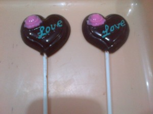 Lollipop Love Flower