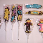 Lolipop Pooh & Tiger, Butterfly, Race Car, Scarecrow