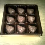 Sekat 9 dus coklat emas
